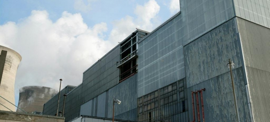 steel cladding cleaning